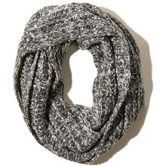 Hollister Marled Scarf (39 BRL) ❤ liked on Polyvore featuring accessories, scarves, acessorios, marled grey, gray shawl, grey scarves, gray scarves and grey shawl