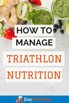 Triathletes need more than the necessary calories to fuel everyday activities. They are pushing themselves beyond the limit of exercise to a new plane. #nutrition #triathlondiet #triathlon #doctriathlon