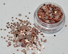 Items similar to Party Time Glitter Mix on Etsy Face Application, Gold Hex, Glitter Rosa, Makeup Pallets, Nail Designer, Makeup Wipes, Cake Face, Rose Gold Hair, Nail Decorations