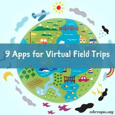 Travel the World From Your Classroom: Free iPad Apps for Virtual Field Trips - Home Schooling Ideas Teaching Technology, Educational Technology, Future Classroom, Classroom Themes, Google Classroom, Classroom Walls, Ipad Apps, Virtual Field Trips, World Geography