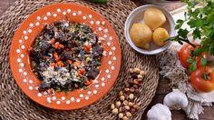 Hígados de pollo salteados con agua de Azahar (Kabad Al'Meshwi) - Najat Kaanache - Receta - Canal Cocina