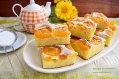 Prăjitura cu iaurt și caise aromată cu vanilie - Rețete Merișor Food Cakes, Cake Cookies, Family Meals, Panna Cotta, Cake Recipes, French Toast, Food And Drink, Pudding, Favorite Recipes