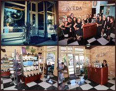 #TheArtisticSalon located in Downtown #Auburn, California. An #Aveda concept salon