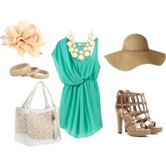 """""""Horse Race Afternoon"""" by marah-g-conner on Polyvore"""