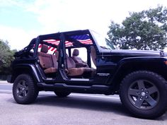 Jeep Wrangler American flag sun screen top by JeepWranlgerLife, $80.00