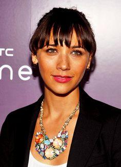 Rashida's necklace is gorgeous