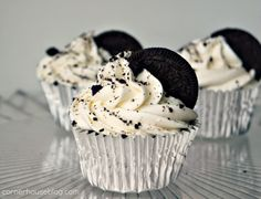 Oreo Cupcakes -- the best? I'll have to make these and compare to mine which happen to be pretty darn good!