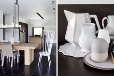 Piet Boon Styling by Karin Meyn | Black and White styled living kitchen