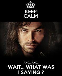 Keep calm Aidan Turner by Nahika.deviantart.com on @deviantART