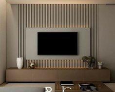 Living Room Tv Unit Designs, Home Design Living Room, Living Room Interior, Home Interior Design, Living Room Decor, Living Room Inspiration, Apartment Design, House Rooms, Modern Tv Room