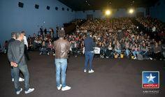 """Avant-première """"Les nouvelles aventures d'Aladin"""" à Kinepolis St Julien les Metz le 06/09/2015 en présence de Kev Adams et William Lebghil"""