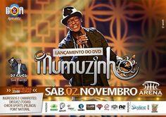 Lançamento DVD Mumuzinho Arena MIX 02 Novembro