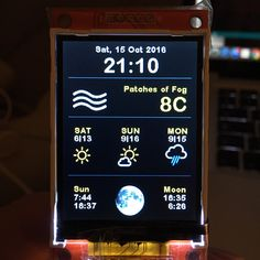 ESP8266 Weather Station Color code published via @danieichhor1973