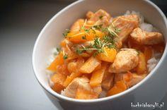 Kuchnia Bazylii: Kurczak z mango na ostro