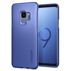 Husa slim Samsung Galaxy S9 Spigen, Thin Fit Coral Blue, albastru coral inspirate din mare! Coral Blue, Samsung Galaxy S9, Galaxies, Slim, Phone, Fitness, Telephone, Mobile Phones