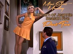 Retrospace: Mini Skirt Monday I Dream of Jeannie - Season 5 (Part II) Barbara Eden, I Dream Of Jeannie, 1980s Pop Culture, Pencil Skirt Black, Pencil Skirts, Burlesque Costumes, Sixties Fashion, Blonde Wig, Wedding Rehearsal