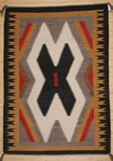 "Crystal  Navajo Weaving   31"" X 44""  Circa 1950   #C38"