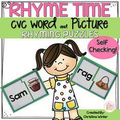 Rhyming CVC Word Pic