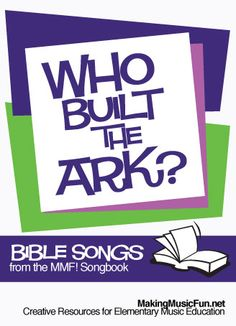 Who Built the Ark? | Lyrics, Free Piano Sheet Music and Noah's Ark Coloring Page - http://www.makingmusicfun.net/htm/f_mmf_music_library_songbook/who-built-the-ark-lyrics.htm