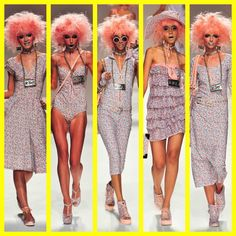 betsey johnson spring summer 2014 mercedes benz new york fashion week