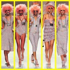betsey johnson spring summer 2014 mercedes benz new york fashion week