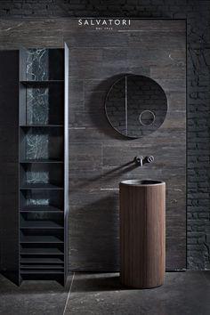 Bathroom design - Adda by David Lopez Quincoces designer - Best Home Decorating Ideas - Easy Interior Design and Decor Tips Lavabo Design, Washbasin Design, Bad Inspiration, Bathroom Inspiration, Bathroom Ideas, Bathroom Designs, Bathroom Remodeling, Casa Patio, Design Apartment
