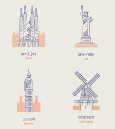 World landmarks - Makers Company