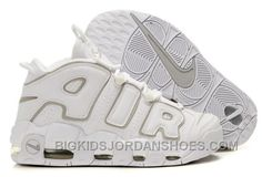 new products 929db f554d Scottie Pippen Nike Air More Uptempo White Grey Free Shipping Hot M58Dj