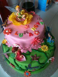 Annabelle's 10th Fairy party  cake idea