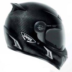UVEX carbon Enduro helmet