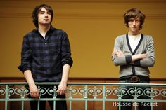 Kitsuné is happy and proud to welcome the French synth rock duo Housse de Racket to his roster. The Beach Boys, Album Releases, Rackets, My Life, Film, Cover, Books, French, Random