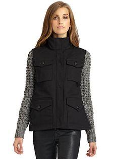 Candela - Cruz Sweater Jacket - Saks.com