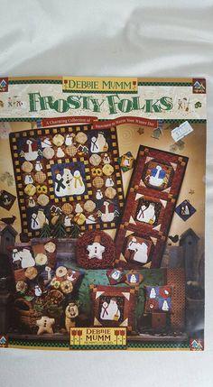 Debbie Mumm Frosty Folks by CrazyDeeDee on Etsy