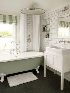 wimbledon residence by leivars - Edwardian Bathroom Design