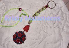 Creacion de Kristy Matamoros para el reto propuesto en el Foro Crochet Necklace, Jewelry, Beading, Key Fobs, The Creation, Shapes, Accessories, Jewlery, Crochet Collar