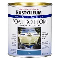 Rust-Oleum Available 207012 Marine Flat Boat Bottom Antifouling Paint, Black