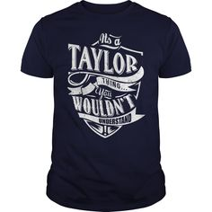 It's Taylor thing, you wouldn't understand