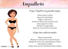 tipos de corpo - ampulheta - grandes mulheres