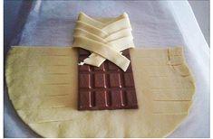 Нереально вкусный десерт из обычного слоеного теста и шоколада!!!