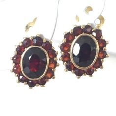 Clic Beauty And House Earring Vintagevintage Clipvintage