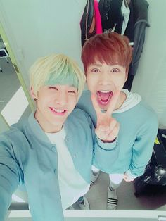 JinJin [진진] and Rocky [라키]