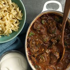 Hungarian Goulash is the meal that everyone craves. Ours slashes the fat and calories, and weighs in at a sleek 339 calories per serving!