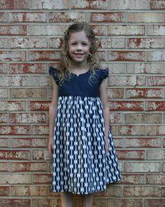Arizona Fabrics Blog Hop: Geranium Dress + Giveaway