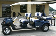 IDEA - We need a few golf carts to take bring guests down to the marina from town. Borrowed is beautiful!