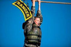 Female Guardsman Tries to Blaze a Trail to Elite Army Rangers