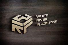 Flagstone Rock Quarry Logo Design Serious, Conservative Logo Design by Markelof