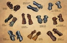 Accessorising Your Fantasy Warrior: Shields, Gauntlets, & Helms