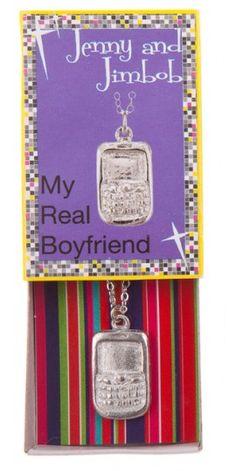 My Real Boyfriend - Cellphone necklace