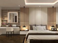 Trendy home decored apartment bedroom colour grey ideas Bedroom Apartment, Home Bedroom, Modern Bedroom, Bedroom Decor, Bedroom Lighting, Hotel Room Design, Best Decor, Master Bedroom Design, Trendy Home