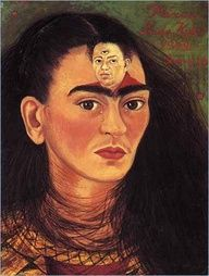 """Frida Kahlo and Diego Rivera had a tumultuous marriage, but it inspired and transformed much of their works, such as """"Diego and I,"""" seen here."""